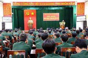 Đảng ủy, Bộ CHQS tỉnh Quảng Ngãi tổ chức Hội nghị quân chính 6 tháng đầu năm 2019