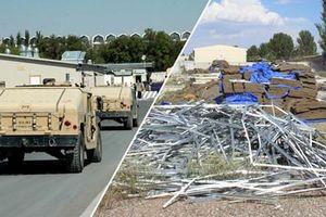 Hoang tàn căn cứ quân sự Mỹ ở Kyrgyzstan sau 5 năm đóng cửa