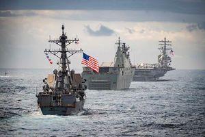 Hải quân Australia khoe sức mạnh khi tập trận chung với Mỹ