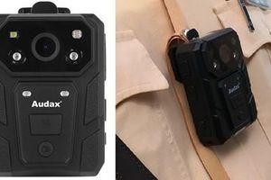 Chi tiết chiếc camera gắn ngực mới trang bị cho CSGT Việt Nam