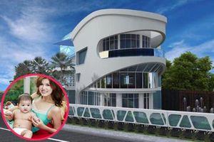 Khám phá biệt thự trăm tỷ bạn trai tặng Hoa hậu đẻ nhiều con nhất showbiz Việt
