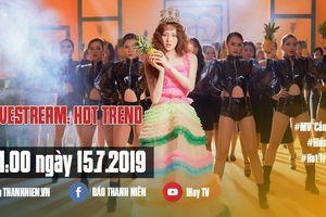 Đón xem Hot Trend: Hiền Hồ bật mí hậu trường MV 'Cần xa'