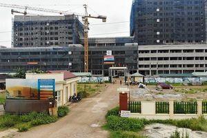 Cận cảnh bệnh viện Sản – Nhi Vĩnh Phúc kẹp giữa các nhà máy thép