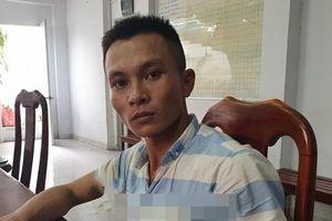 Bắt nghi can cứa cổ lái xe ôm Grab ở Sài Gòn