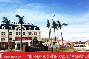 Agribank Lộc Hà khai trương trụ sở mới