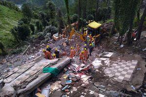 14 người thiệt mạng trong vụ sập tòa nhà 4 tầng ở Ấn Độ