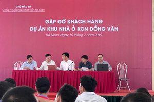 Dự án TNR Stars Đồng Văn: Chậm thủ tục, chủ đầu tư chi trả lãi suất cho khách hàng