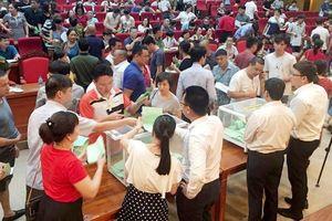 Bất thường đấu giá đất ở Bắc Giang