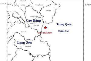Động đất 2.9 độ richter gần Cao Bằng, mưa lớn gây thiệt hại nặng