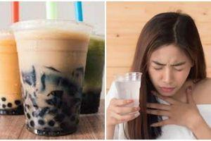 Cô gái chết tức tưởi vì nghẹt thở khi uống trà sữa trân châu