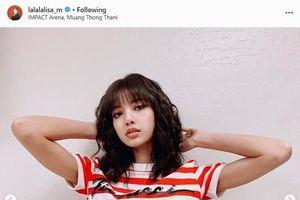 Mặc croptop khoe eo thon gợi cảm, Lisa (BlackPink) hút 5 triệu like trên instagram sau 20h