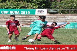 Giải bóng đá Thanh Hóa – Cúp Huda 2019: 4 đội bóng xuất sắc nhất lọt vào trận các trận chung kết