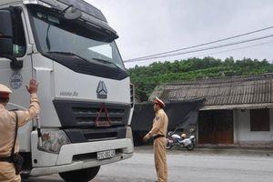 Sáng ngày đầu tổng kiểm tra, CSGT Yên Bái xử lý 83 phương tiện vi phạm