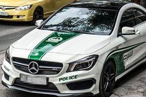 Tự ý dán tem Cảnh sát Dubai, xe ô tô sẽ bị từ chối kiểm định