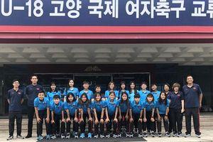 Cập bến Hàn Quốc, ĐT U19 nữ Việt Nam 'căng mình' thi đấu giao hữu
