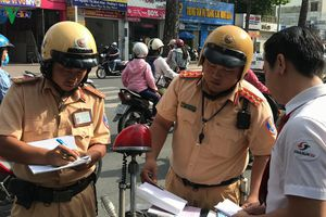 CSGT cả nước đồng loạt ra quân tổng kiểm tra xử lý vi phạm giao thông
