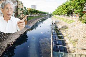 Chuyên gia: Bơm nước từ sông Hồng 'giải cứu' sông Tô Lịch là sai lầm