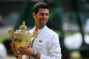 Bảng thành tích đáng nể của Novak Djokovic sau khi lên ngôi vương Wimbledon 2019