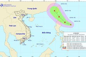 Áp thấp nhiệt đới có thể mạnh lên thành bão gần biển Đông