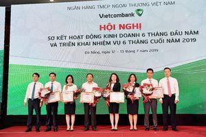 6 tháng: Lợi nhuận trước thuế của Vietcombank đạt 11.045 tỷ đồng