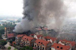 Kịp thời dập tắt đám cháy lớn tại khu Thiên Đường Bảo Sơn