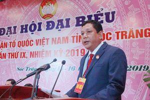 Ông Dương Sà Kha tái đắc cử Chủ tịch Ủy ban MTTQVN tỉnh Sóc Trăng