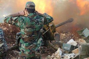 Quân đội Syria nã tên lửa thiêu rụi nhiều căn cứ trọng yếu của khủng bố tại Hama, Idlib