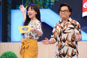 Hari Won ngượng ngùng khi bị Đại Nghĩa nói lấy chồng rồi vẫn không biết nấu ăn