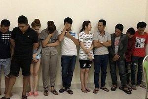 Nhóm thanh niên tổ chức 'tiệc' ma túy trong quán karaoke lúc rạng sáng