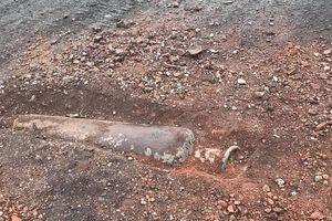 Thông tin chính thức về vật thể lạ nghi là bom ở Phú Thọ
