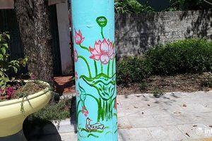 Ngỡ ngàng những cây cột điện 'nở hoa' ở Thanh Hóa
