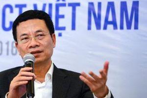 Bộ trưởng Nguyễn Mạnh Hùng: Để Việt Nam đột phá, cách duy nhất là phát triển công nghệ