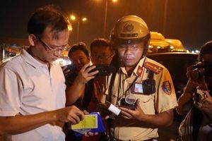 TPHCM: Hơn 700 trường hợp bị phạt trong ngày đầu tổng kiểm tra vi phạm giao thông
