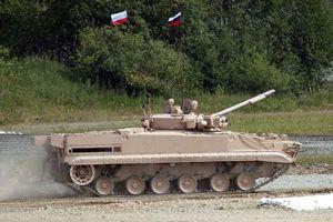 Thèm thuồng dàn xe thiết giáp BMP-3 Nga sản xuất cho Iraq