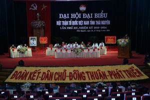 Đại hội Đại biểu MTTQ Việt Nam tỉnh Thái Nguyên lần thứ XV