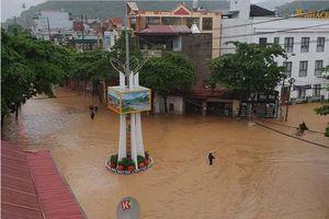 Sơn La: Mưa lớn gây ngập úng diện rộng