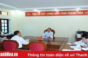 Thông báo thay đổi ngày tiếp, đối thoại với công dân của đồng chí Bí thư Tỉnh ủy