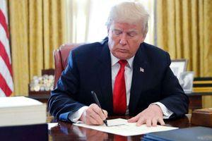 Tổng thống Trump ký sắc lệnh thúc đẩy sản xuất hàng hóa trong nước