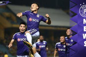 Quang Hải, Văn Quyết và top 5 siêu phẩm của Hà Nội FC trước HAGL