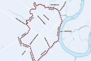 Đề xuất xây dựng 34 trạm thu phí ô tô vào trung tâm TP.HCM