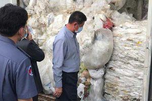 Campuchia trả lại 83 container rác dồn về cảng Preah Sihanouk