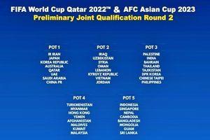 Hôm nay, bốc thăm chia bảng vòng loại 2 World Cup 2022 khu vực châu Á