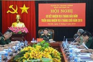 Ban chỉ đạo 35 Quân ủy Trung ương tổ chức Hội nghị sơ kết nhiệm vụ 6 tháng đầu năm 2019