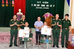 Quân khu 4: Tri ân đối tượng chính sách trên địa bàn tỉnh Nghệ An