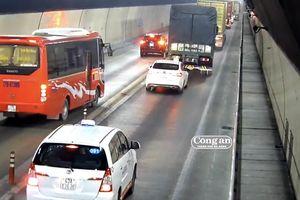 Hầm đường bộ Hải Vân: Ẩn họa khi ô-tô vượt ẩu