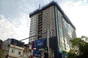 Chung cư xây vượt tầng, ngang nhiên sai phạm: Trách nhiệm cơ quan quản lý ở đâu?