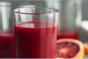 Những loại nước trái cây tăng cường miễn dịch cực tốt khi bạn ốm