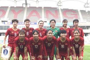 U19 nữ Việt Nam thất thủ trước U18 nữ Hàn Quốc