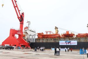 Bình Thuận: Cảng Vĩnh Tân đón tàu quốc tế đầu tiên cập cảng