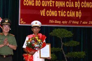 Bổ nhiệm tân Giám đốc Công an Tiền Giang